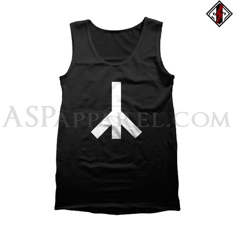Yr Rune Tank Top-satanic-clothing-heathen-merchandise-by-ASP Culture