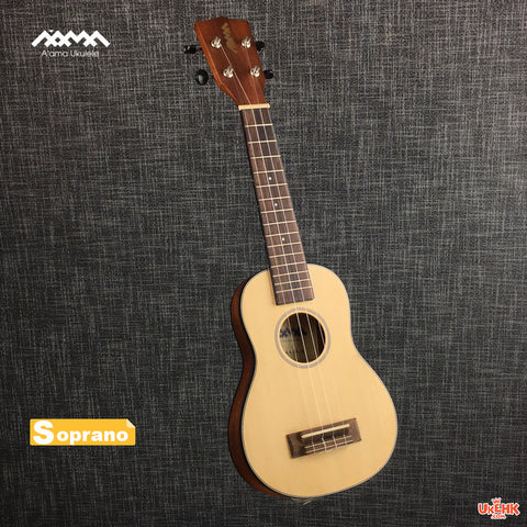 A'AMA Solid Spruce Soprano (AA-SL-S)
