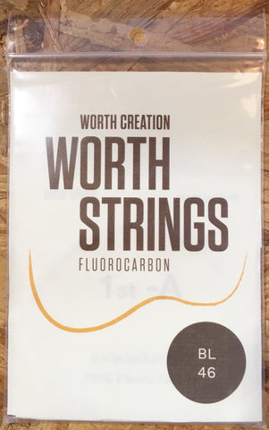 Worth Ukulele String Brown Fluoro Carbon For Sop/Conc  (BL)