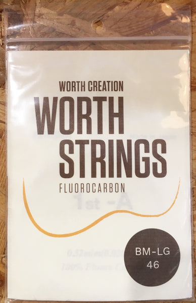 Worth Ukulele String Brown Fluoro Carbon For Sop/Conc  (BM-LG)