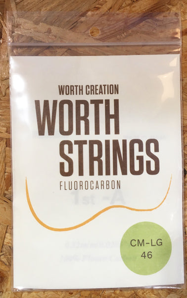 Worth Ukulele String Clear Fluoro Carbon For Sop/Conc  (CM-LG)