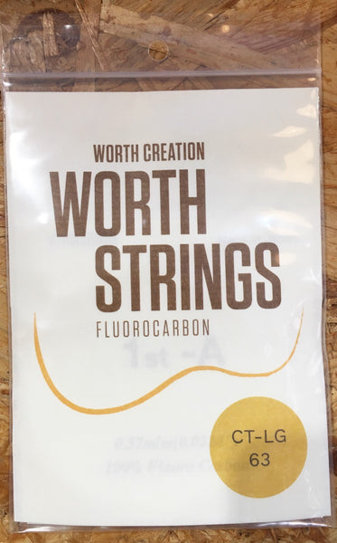 Worth Ukulele String Clear Fluoro Carbon For Ten (CT-LG)