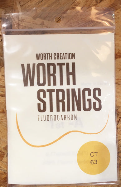 Worth Ukulele String Clear Fluoro Carbon For Ten (CT)
