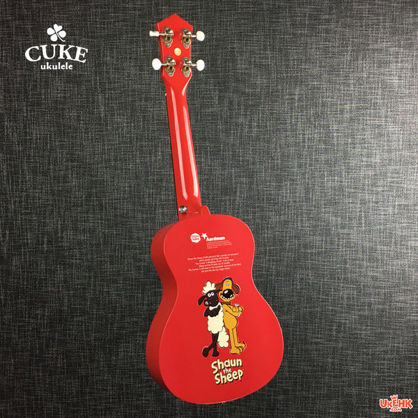 Cuke Shaun the Sheep Concert Red