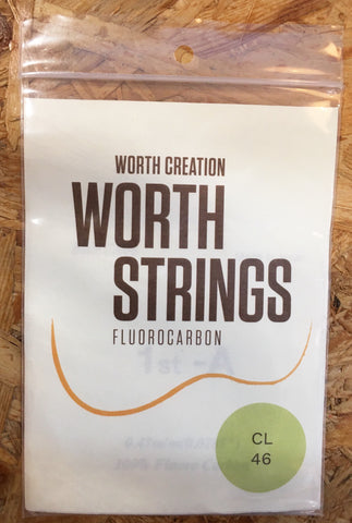Worth Ukulele String Clear Fluoro Carbon For Sop/Conc  (CL)
