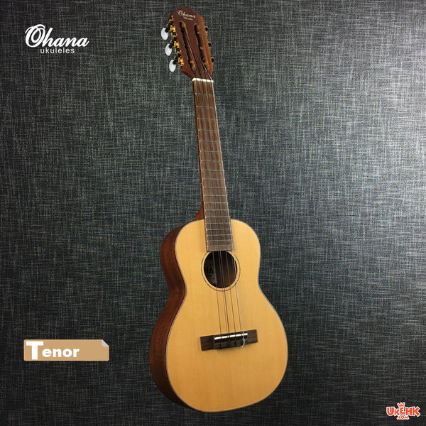 Ohana Solid Spruce 6Strings Tenor (TK-70-6)