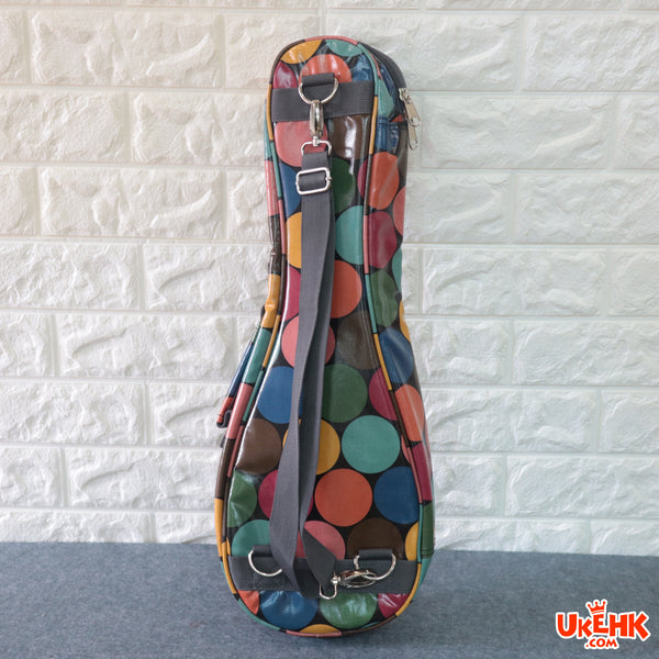 A'AMA Designer Series Gig Bag Soprano-Colorful Dot Black(DS-DOT-BK-S)