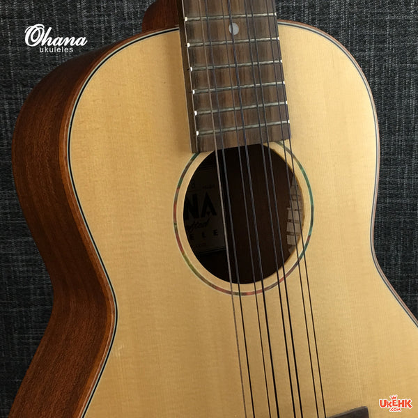 Ohana Solid Spruce 8Strings Tenor (TK-70-8)