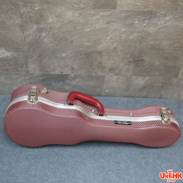 A'AMA ABS Red Soprano/Concert/Tenor Case(ABS-RD-S/C/T)