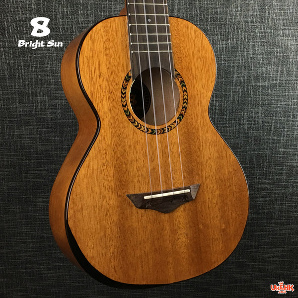 Bright Sun Solid Mahogany Tenor with Pickup (BS-101T-EQ)
