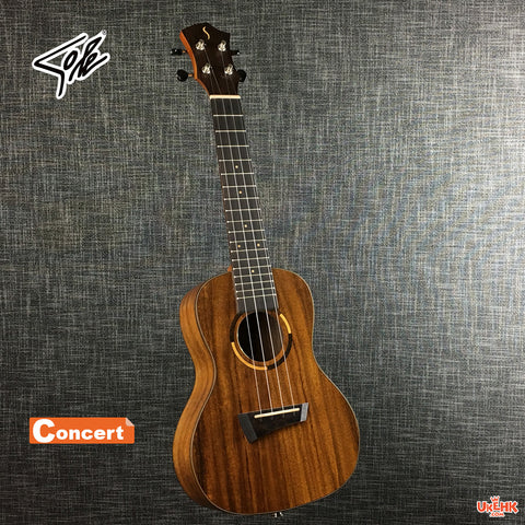 Sole Solid Acacia Concert with Pickup (KC-388AV)