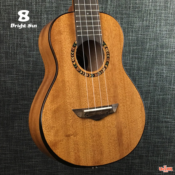 Bright Sun Solid Mahogany Concert with Pickup (BS-101C-EQ)