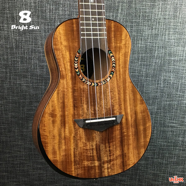 Bright Sun Solid Acacia Concert with Pickup (BS-20C-EQ)