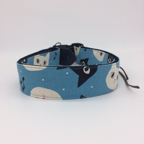 Taiwan Handmade Strap-Blue Cat (Uke-Strap TH-BC)
