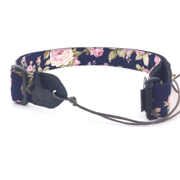 Taiwan Handmade Strap-Deep Blue Rose (Uke-Strap TH-DWR)