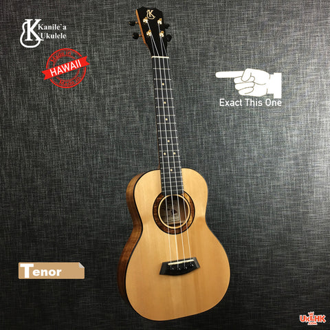 Kanile'a Solid Spruce Tenor (KSDLX-T) # 17949