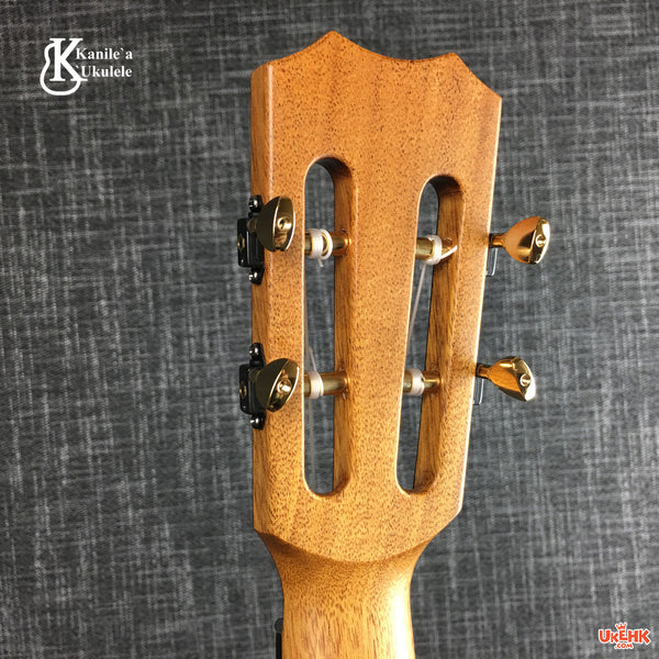 Kanile'a Solid Spruce Tenor (Platinum Let) # 20014