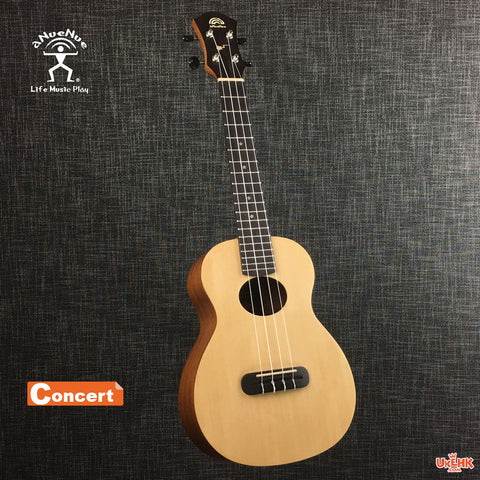 aNueNue Solid Spruce Concert (ANN-SS2)