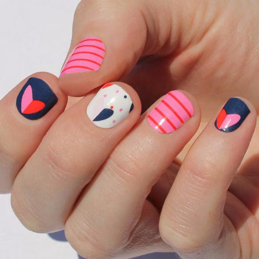 Joyful Heart Nail Wraps