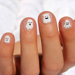 Ghost Kids Nail Wraps