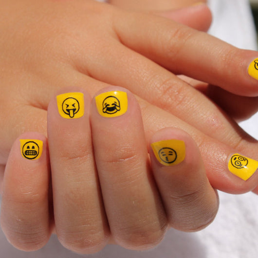 Mini Nail Wraps Emoji