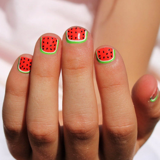 Watermelon Kids Nail Wraps