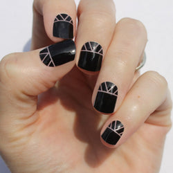Black Indio Nail Wraps
