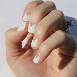 White Elle Nail Wraps