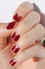 Wine Elle Nail Wraps