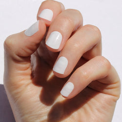 Solid White Nail Wraps