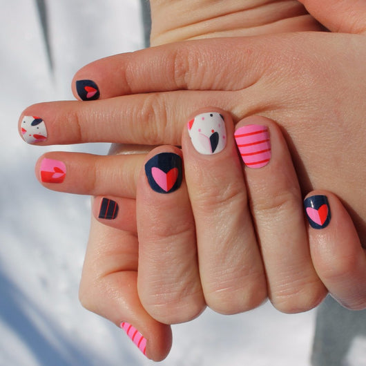Joyful Heart Momma & Me Nail Wraps