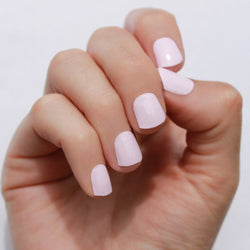 Solid Whisper Pink Nail Wraps