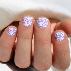 Lilac Flower Mini Nail Wraps