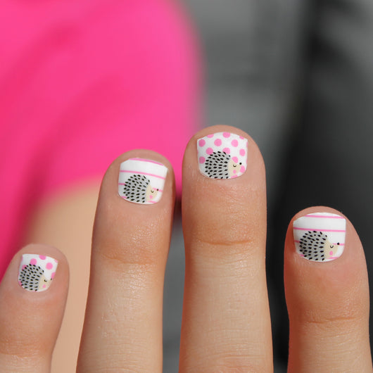 Hedgehog Mini Nail Wraps