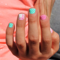 Mermaid Kids Nail Wraps