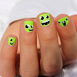 Monster Kids Nail Wraps