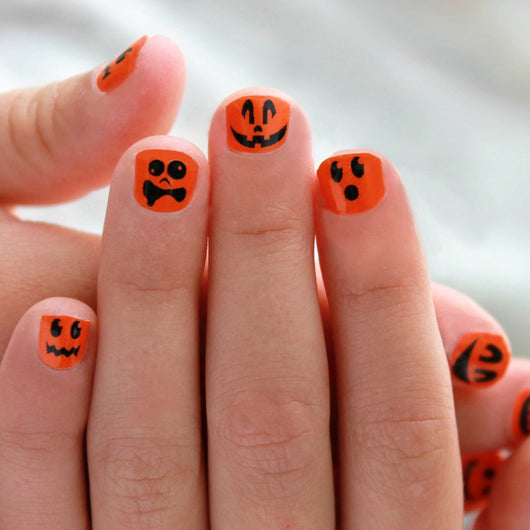 Pumpkin Kids Nail Wraps