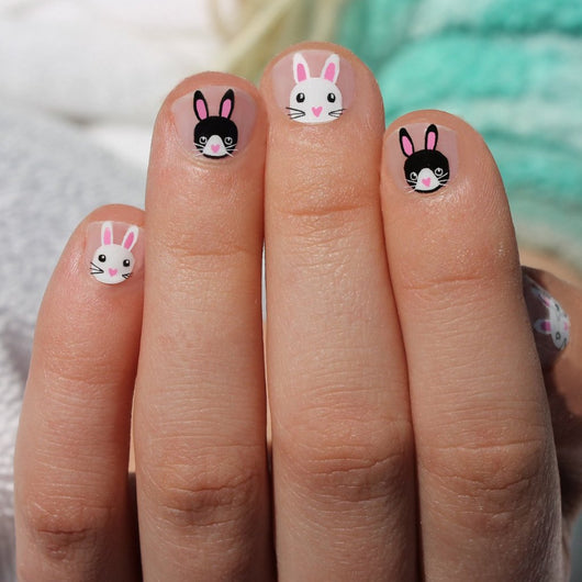 Bunny Love Kids Nail Wraps