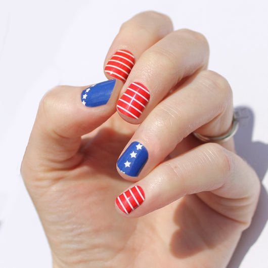 Stars & Stripes Nail Wraps