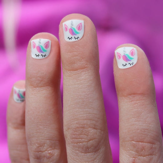 Unicorn Mini Nail Wraps