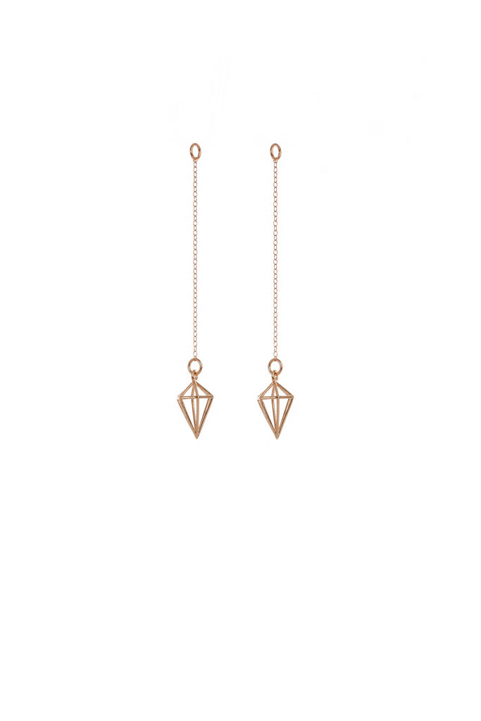 Large Pendulum Thread Earrings
