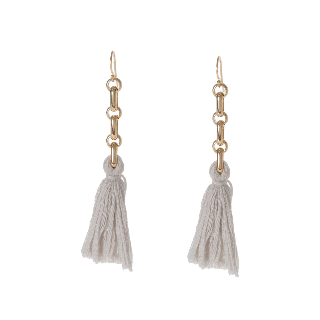 Reina Tassel Earrings