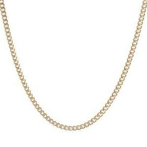 TINY CURB CHAIN (14k GOLD-FILL)