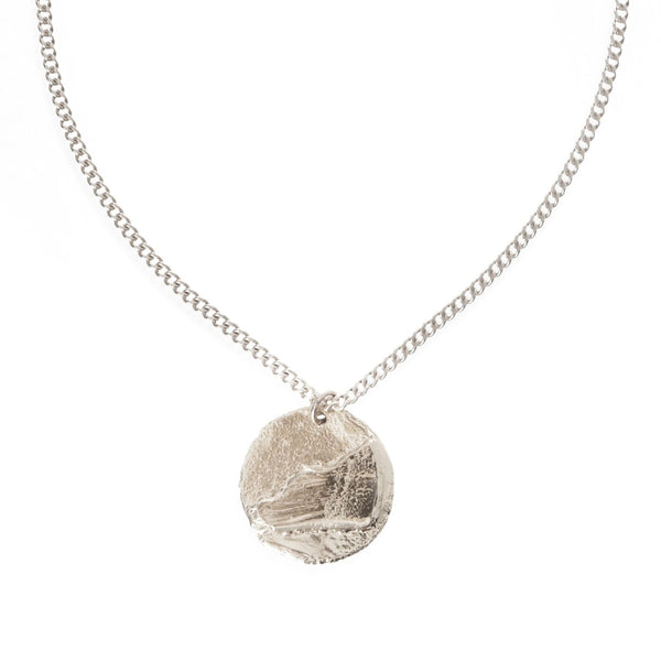 Cliff Edge Necklace - Sterling Silver