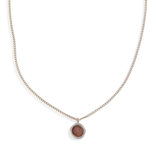 Visions Bowl Necklace - Sterling Silver