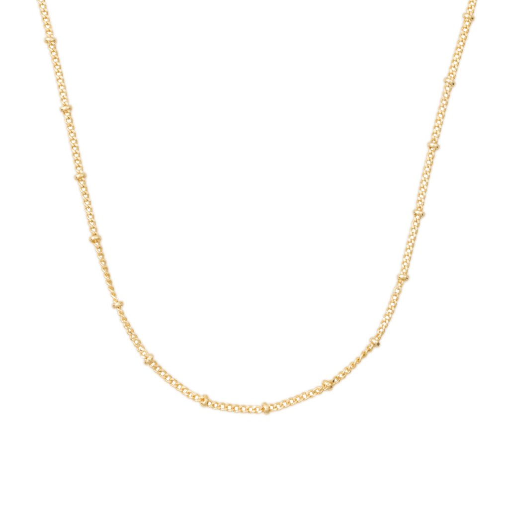 THIN SATELLITE CHAIN - GOLD FILLED