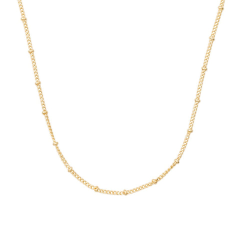 Thin Satellite Chain - 14k Gold Fill