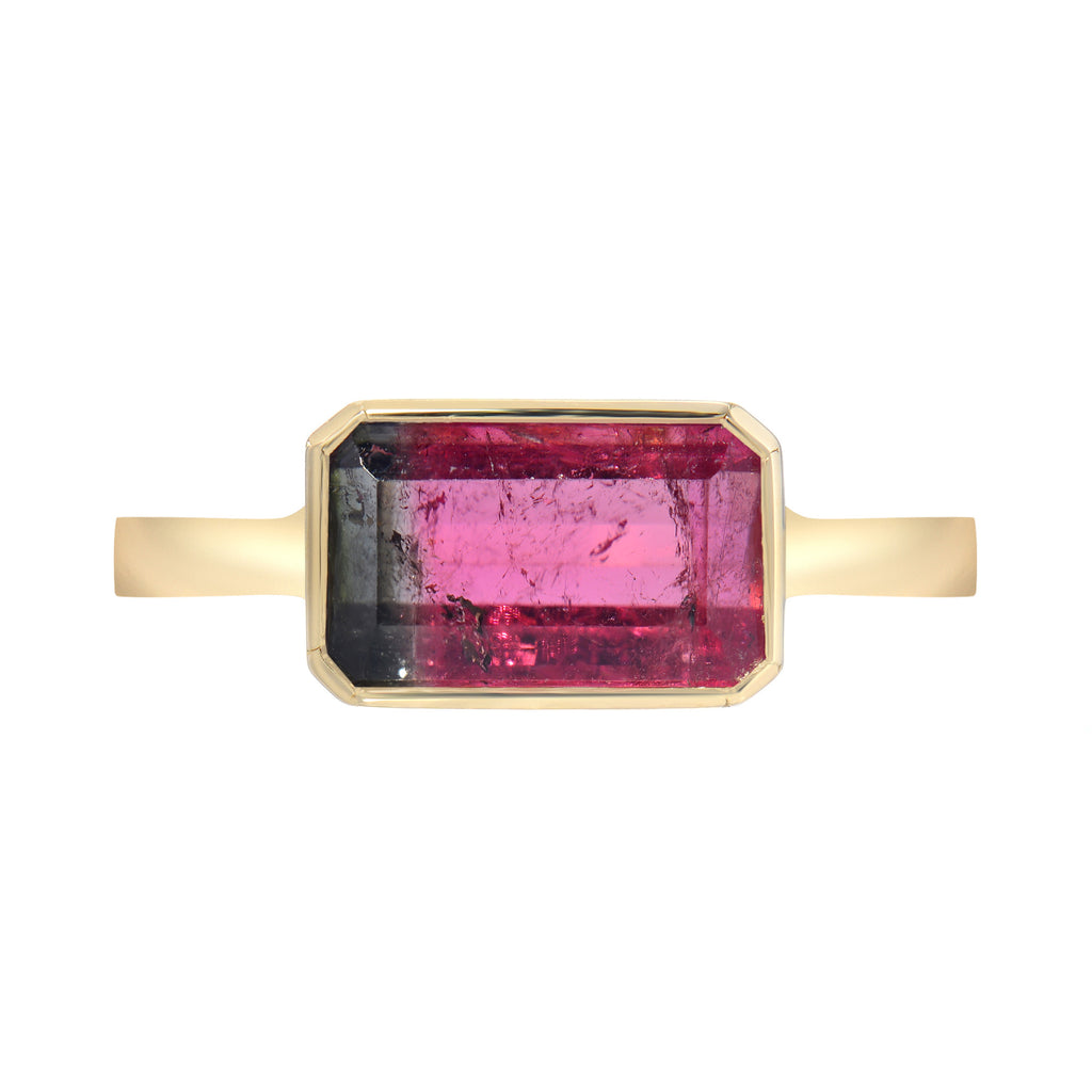 TOURMALINE BIRTHSTONE BAND
