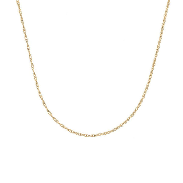 Twisted Chain - Gold Plated