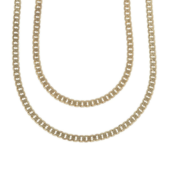 FLAT CURB NECKLACE